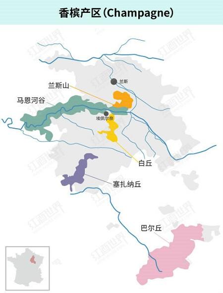 一文了解法国12大葡萄酒产区