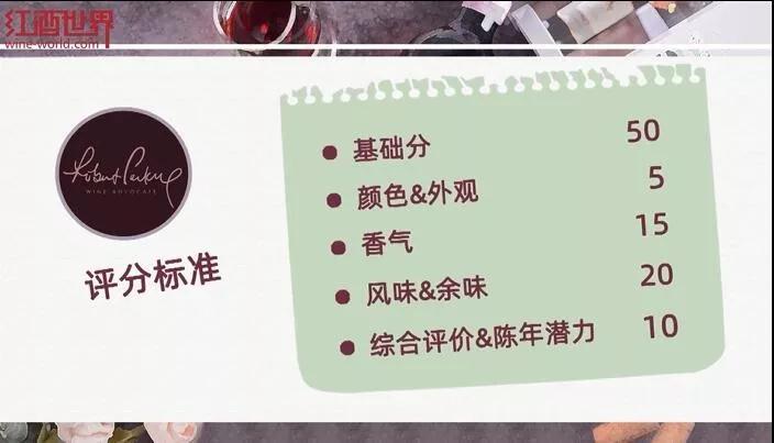 常见的葡萄酒评分体系