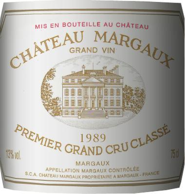 1989年份玛歌酒庄红葡萄酒