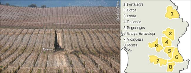 葡萄牙葡萄酒地图