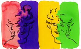 2001年木桐酒标 戏剧大师多元化的艺术爱好