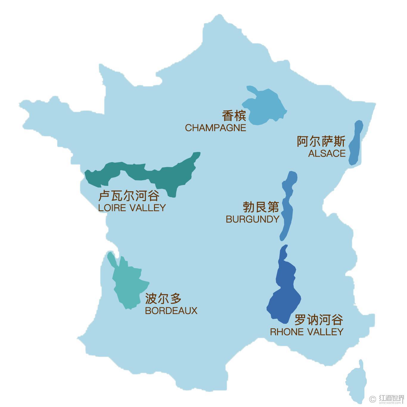 法国葡萄酒与葡萄园均价居世界之首