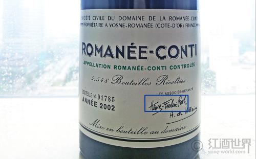 你所不知道的罗曼尼·康帝