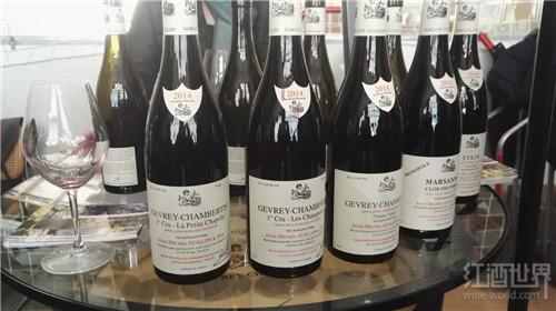 红酒世界参加勃艮第葡萄酒展会,品鉴夜丘美酒