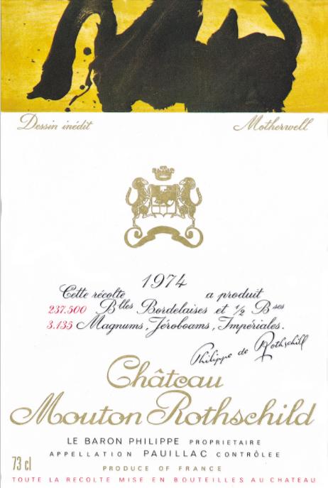 收藏帖:木桐的艺术酒标集齐了!