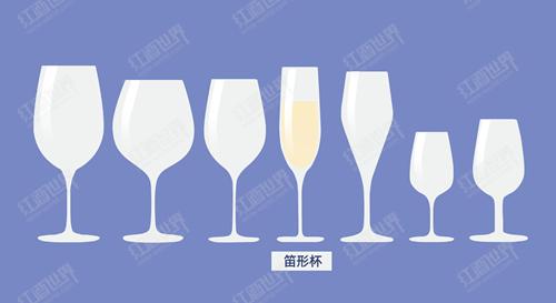 喝香槟也要选对酒杯