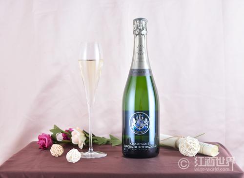香槟光辉下的法国起泡酒