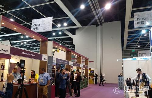 武汉国际葡萄酒博览会开幕 千余款产品亮相