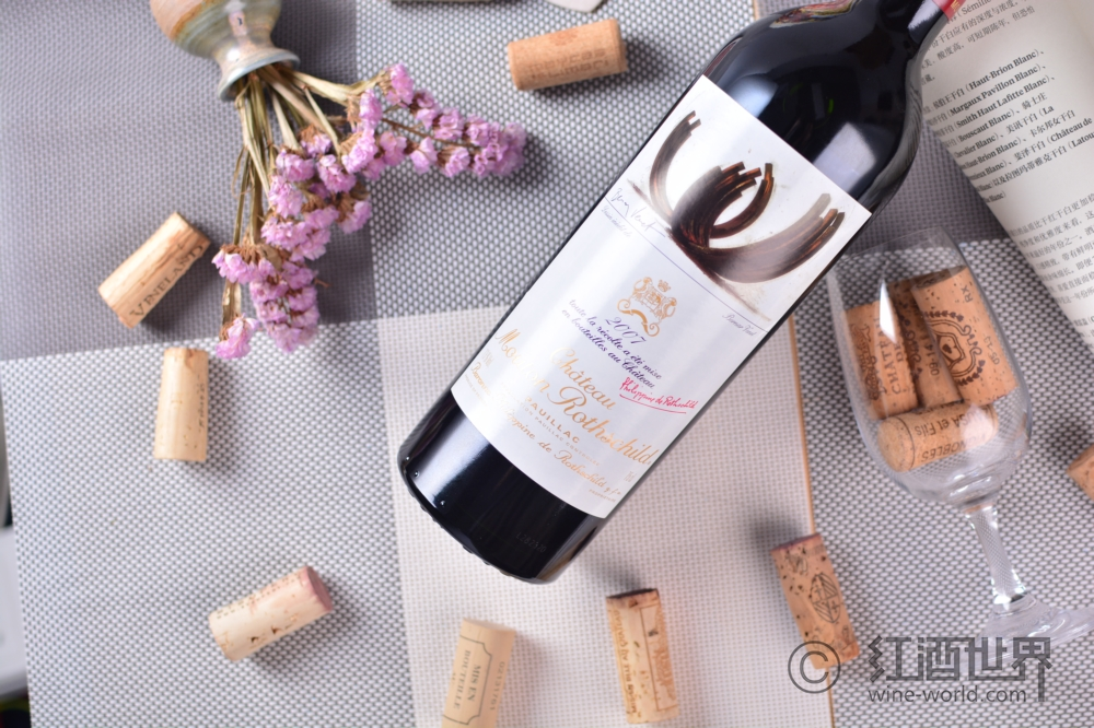 2007木桐酒標賞析:扎根大地的圣杯