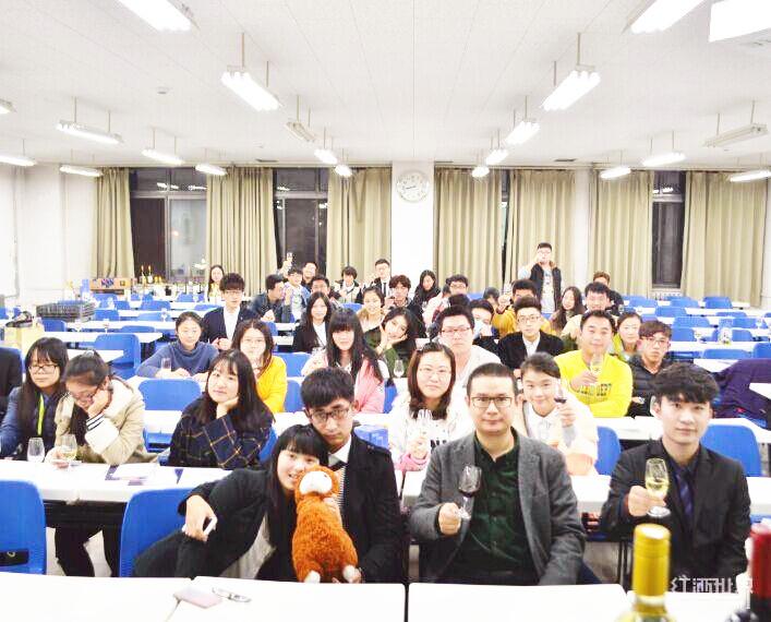 """""""高校葡萄酒品鉴与礼仪公开课""""走进中国青年政治学院"""