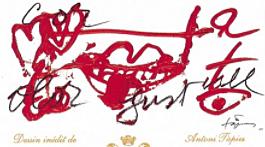 1995年份木桐酒标 血流成河的战场
