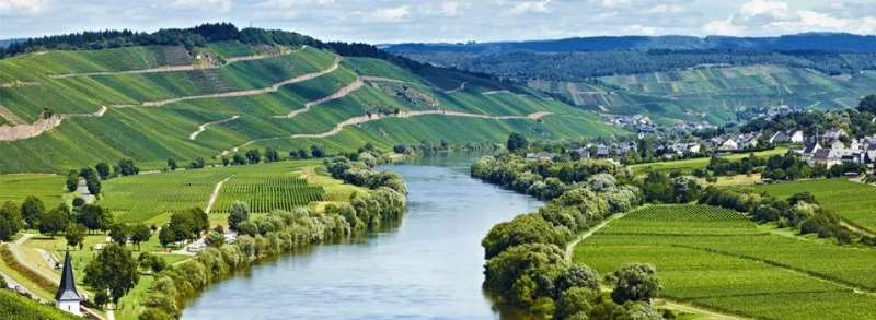 數一數河流造就的知名產區
