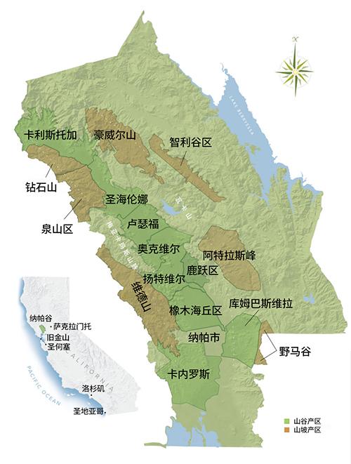 硅谷以北,探寻纳帕谷产区