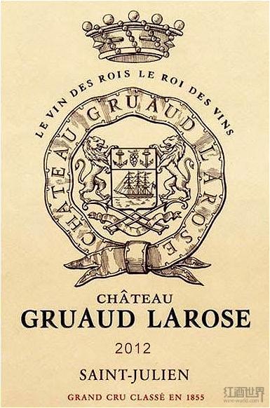 波尔多1855列级庄2012年份酒标图大全(上)