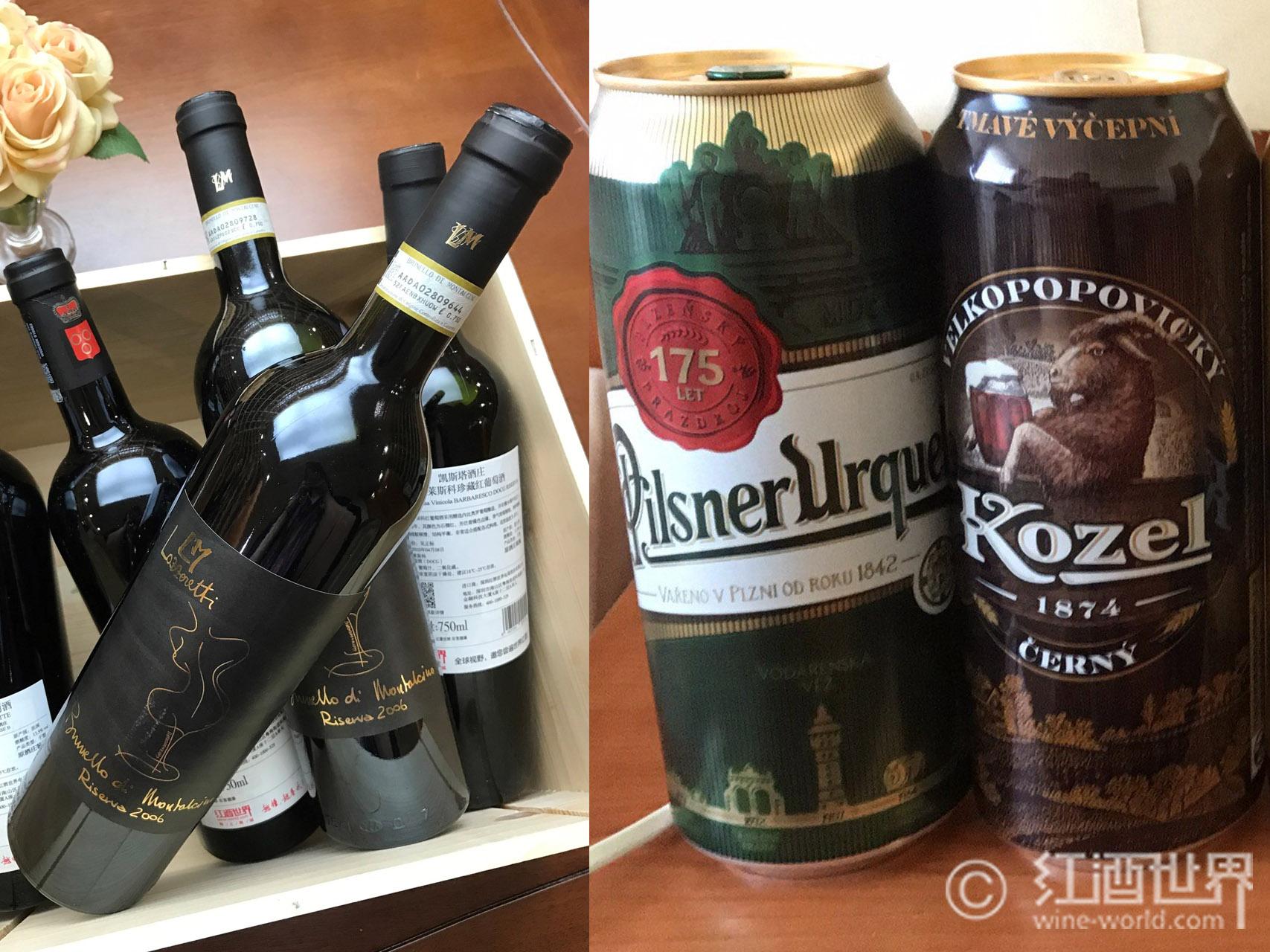 卡路里的较量:葡萄酒VS啤酒