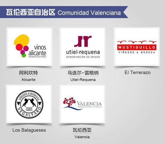 西班牙葡萄酒产区标志一览(二)