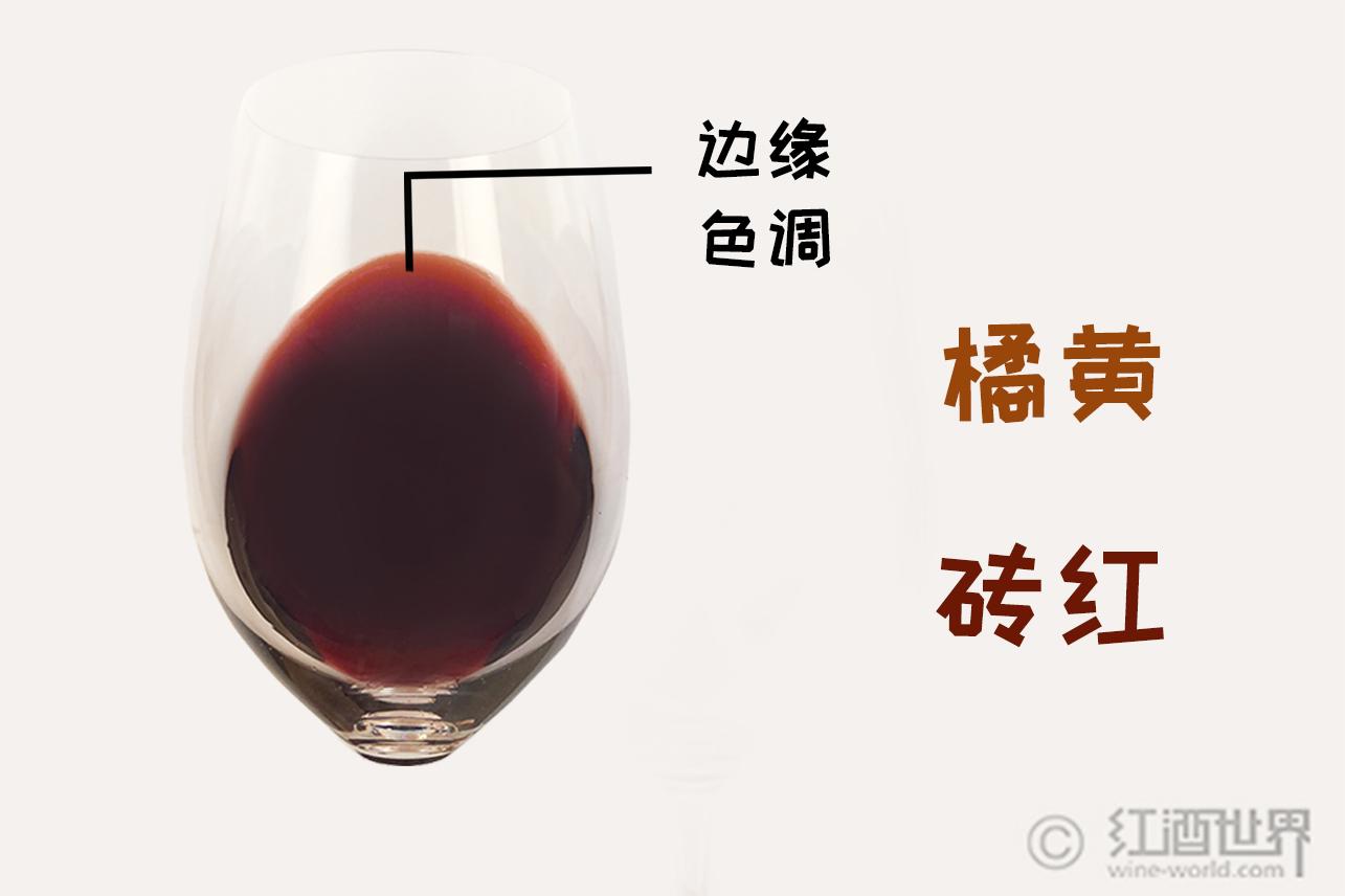 葡萄酒颜色须知之红葡萄酒