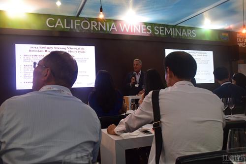 2016香港Vinexpo之加利福尼亚州葡萄酒研讨会
