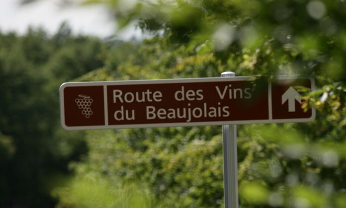 法国博若莱葡萄酒地图