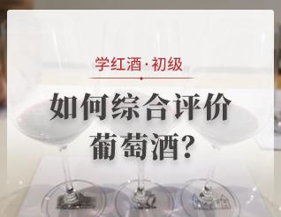 如何綜合評價葡萄酒?