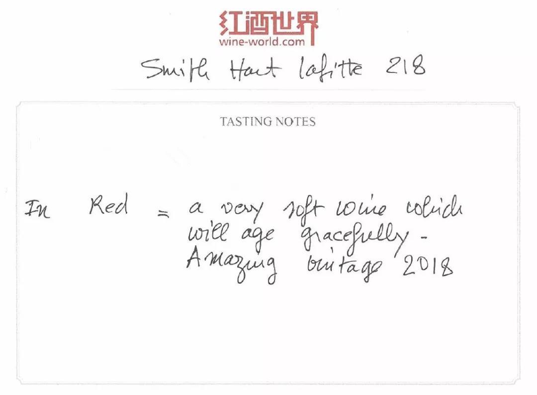 2018期酒丨JD97-100分,史密斯拉菲特:格拉夫之精粹