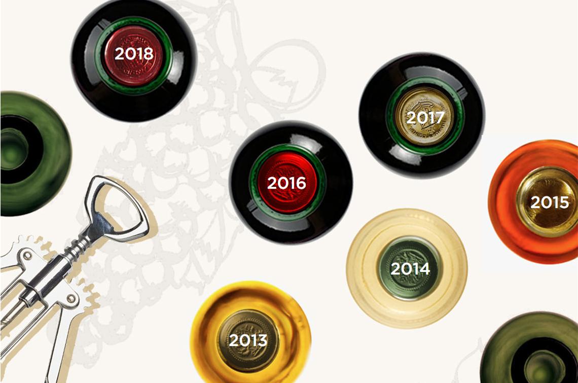波尔多2009至2018年份概览