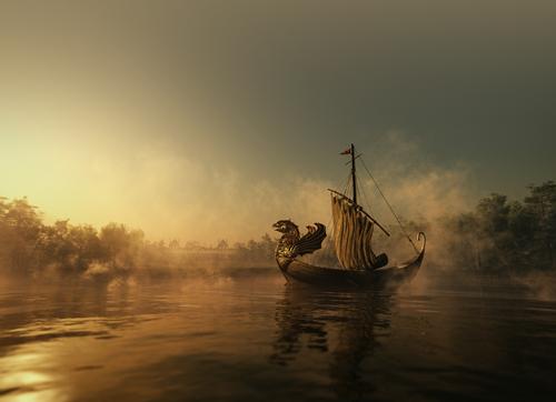 既为龙船,何故降帆?