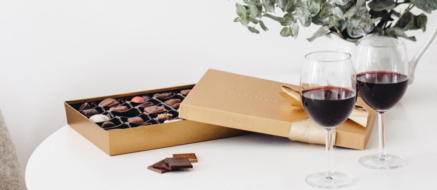 当红酒热巧克力邂逅寒冬