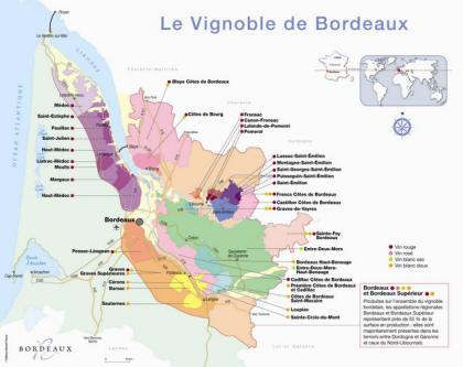 顶级葡萄酒产区——波尔多的前世今生