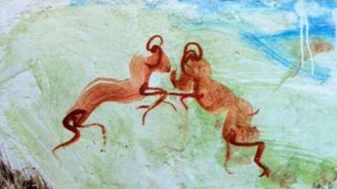 2012年份木桐酒标 西班牙籍画家米盖尔倾力打造